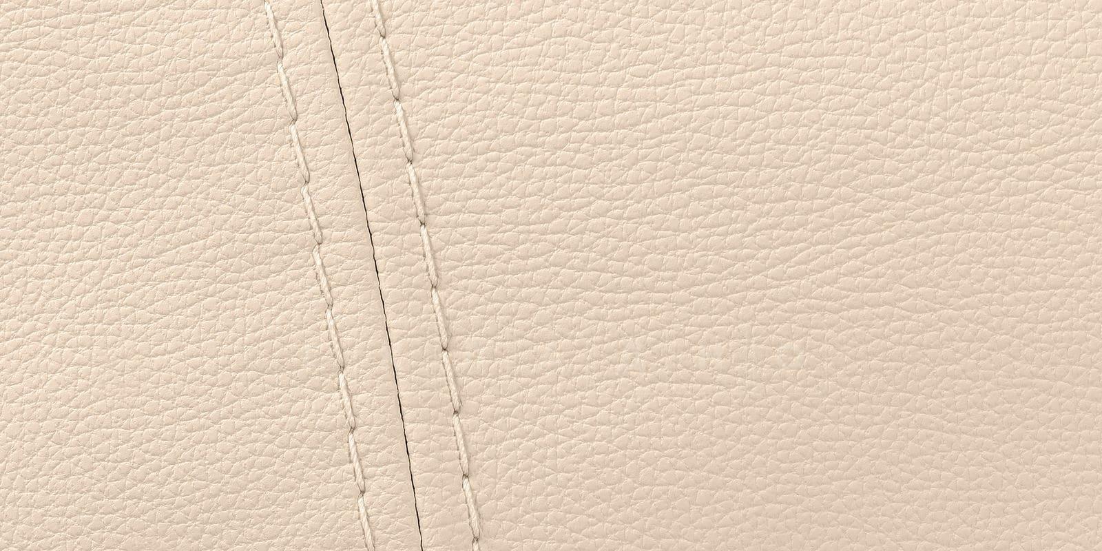 Диван угловой Бристоль кожаный бежевого цвета правый угол фото 9 | интернет-магазин Складно