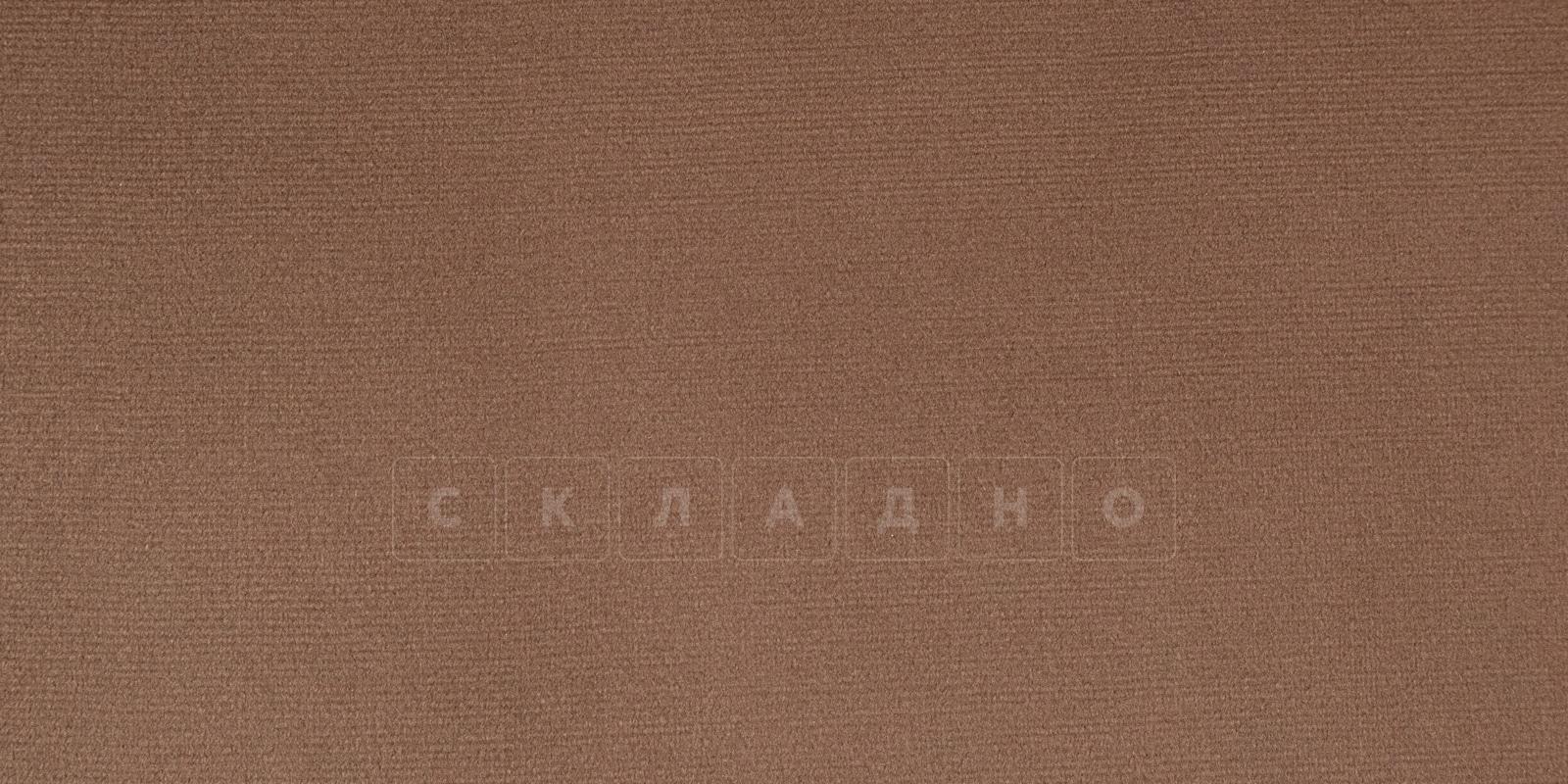 Диван угловой Бристоль велюр коричневый правый угол фото 7 | интернет-магазин Складно