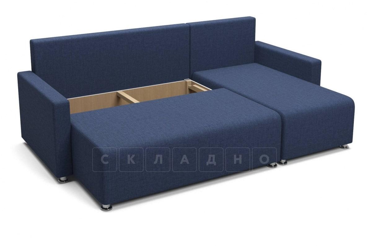 Угловой диван Челси темно-синий фото 5 | интернет-магазин Складно