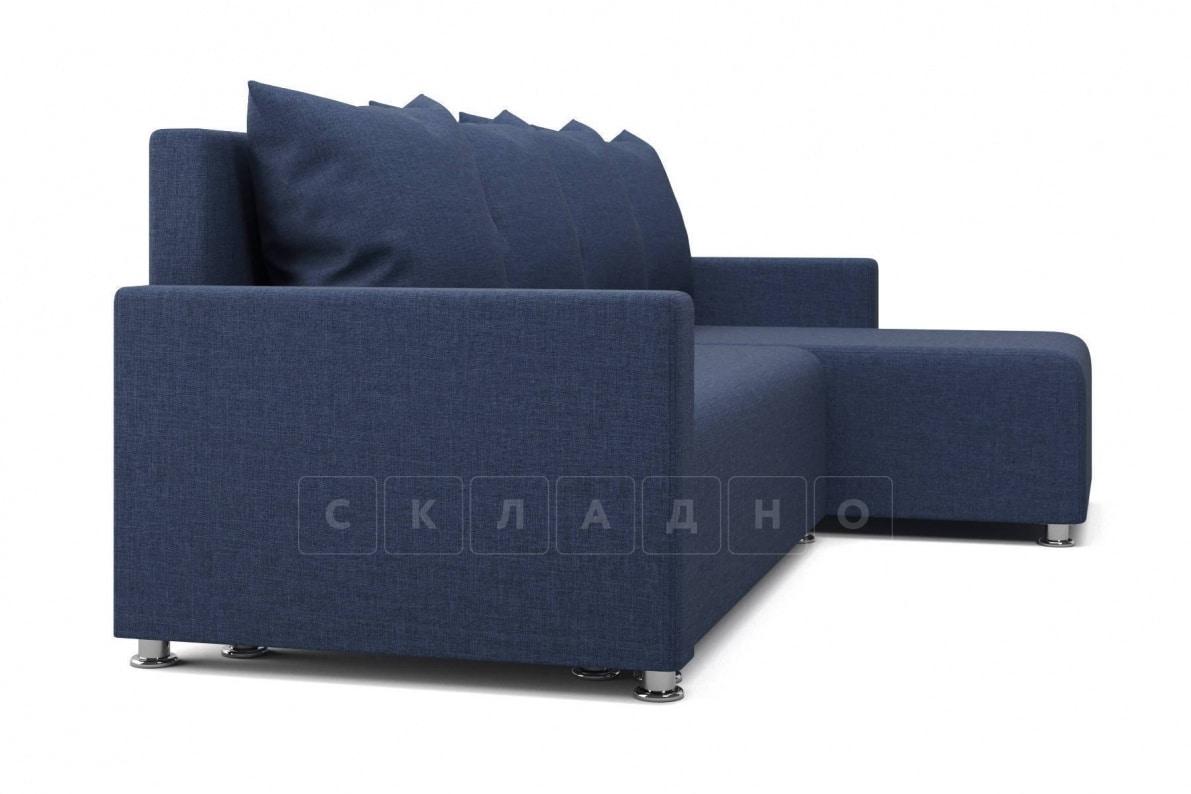 Угловой диван Челси темно-синий фото 3 | интернет-магазин Складно