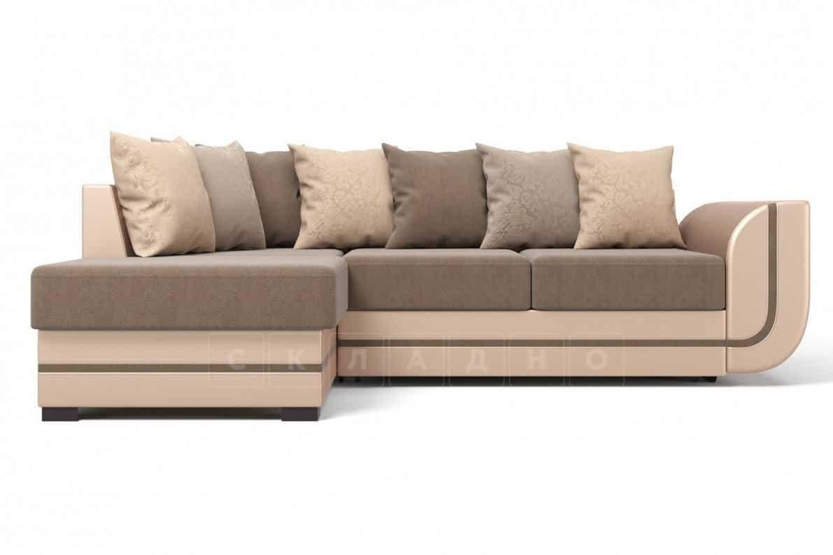 Угловой диван Чикаго песочного цвета левый фото 2 | интернет-магазин Складно