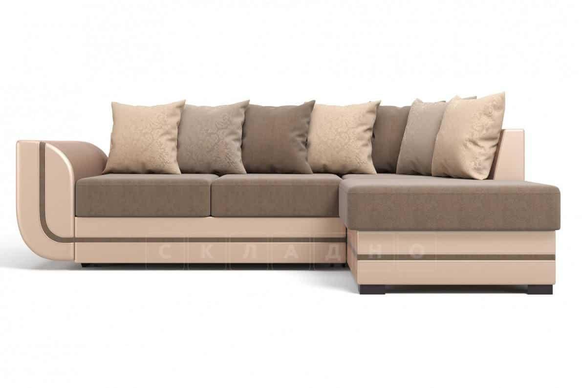 Угловой диван Чикаго песочного цвета правый фото 2 | интернет-магазин Складно