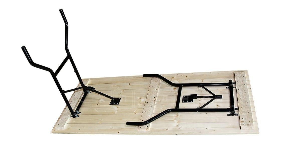 Складной стол Рейка прямоугольный 200 х 90 см. фото 2 | интернет-магазин Складно