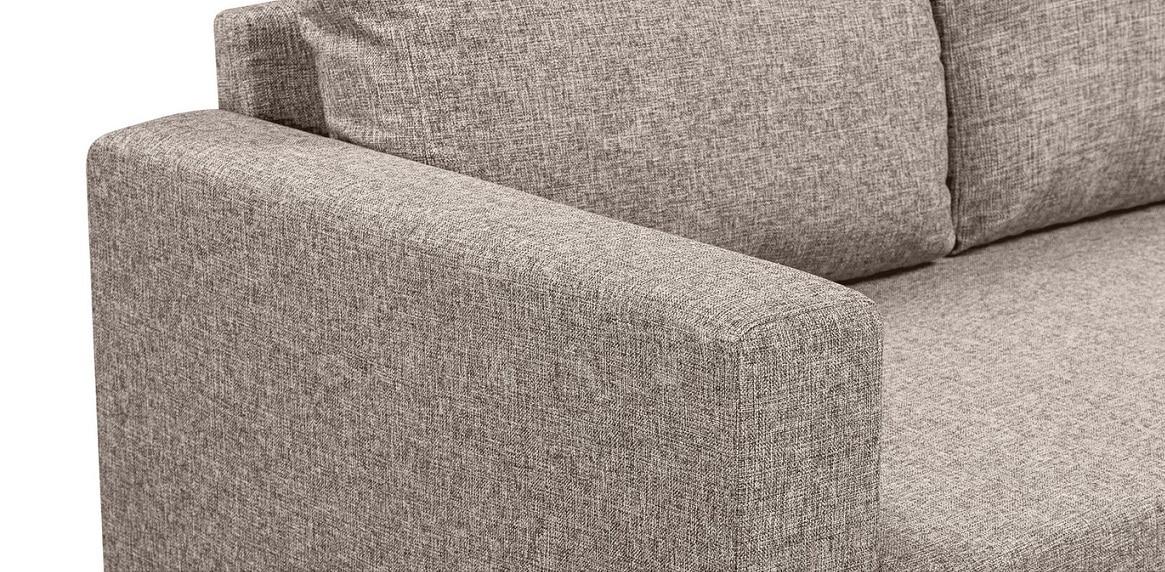 Угловой диван Турин темно-бежевый фото 5 | интернет-магазин Складно