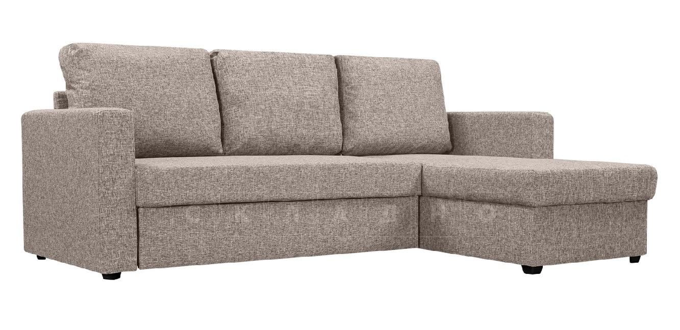 Угловой диван Турин темно-бежевый фото 1 | интернет-магазин Складно