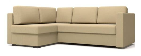 Угловой диван Джессика бежевый левый фото | интернет-магазин Складно