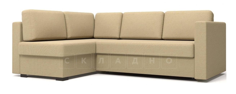 Угловой диван Джессика бежевый левый фото 1 | интернет-магазин Складно