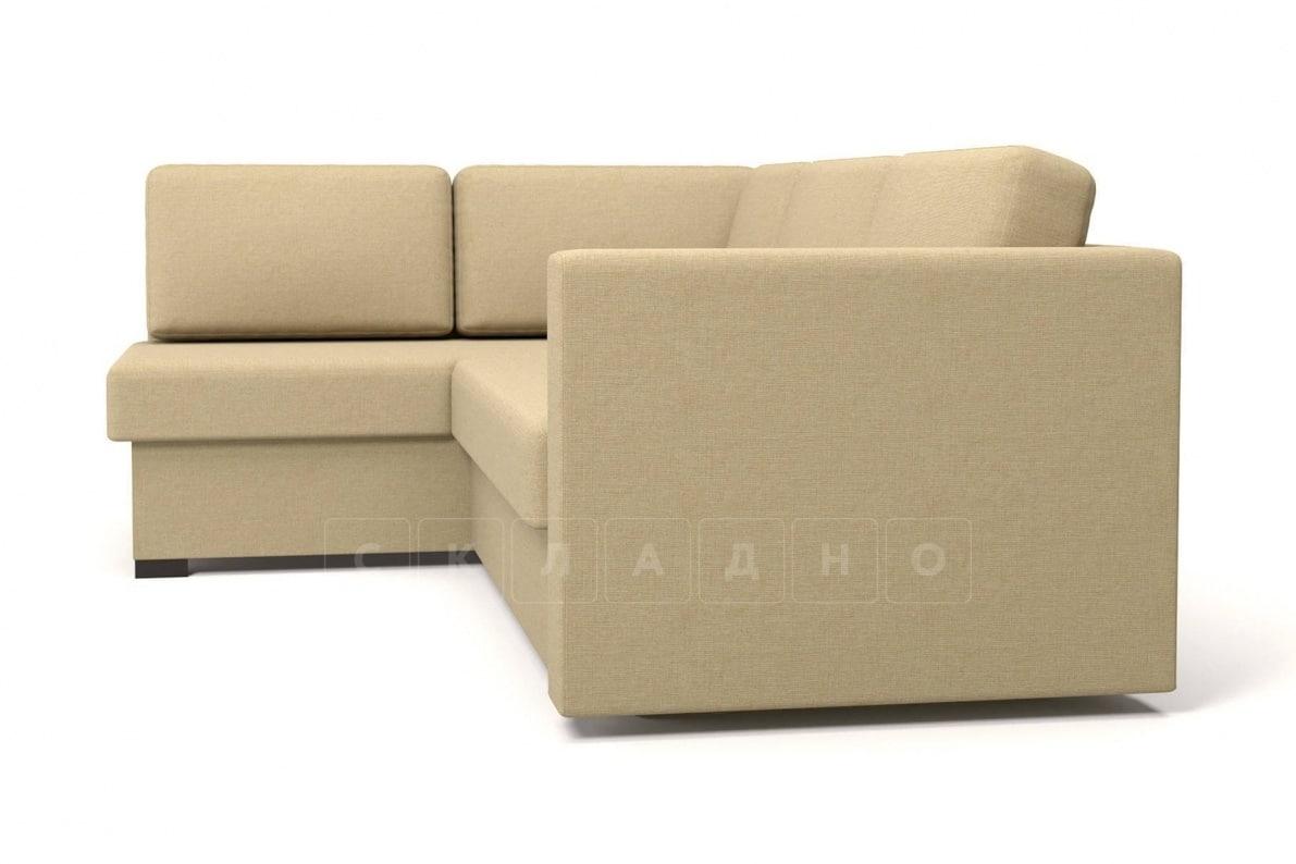Угловой диван Джессика бежевый левый фото 3 | интернет-магазин Складно