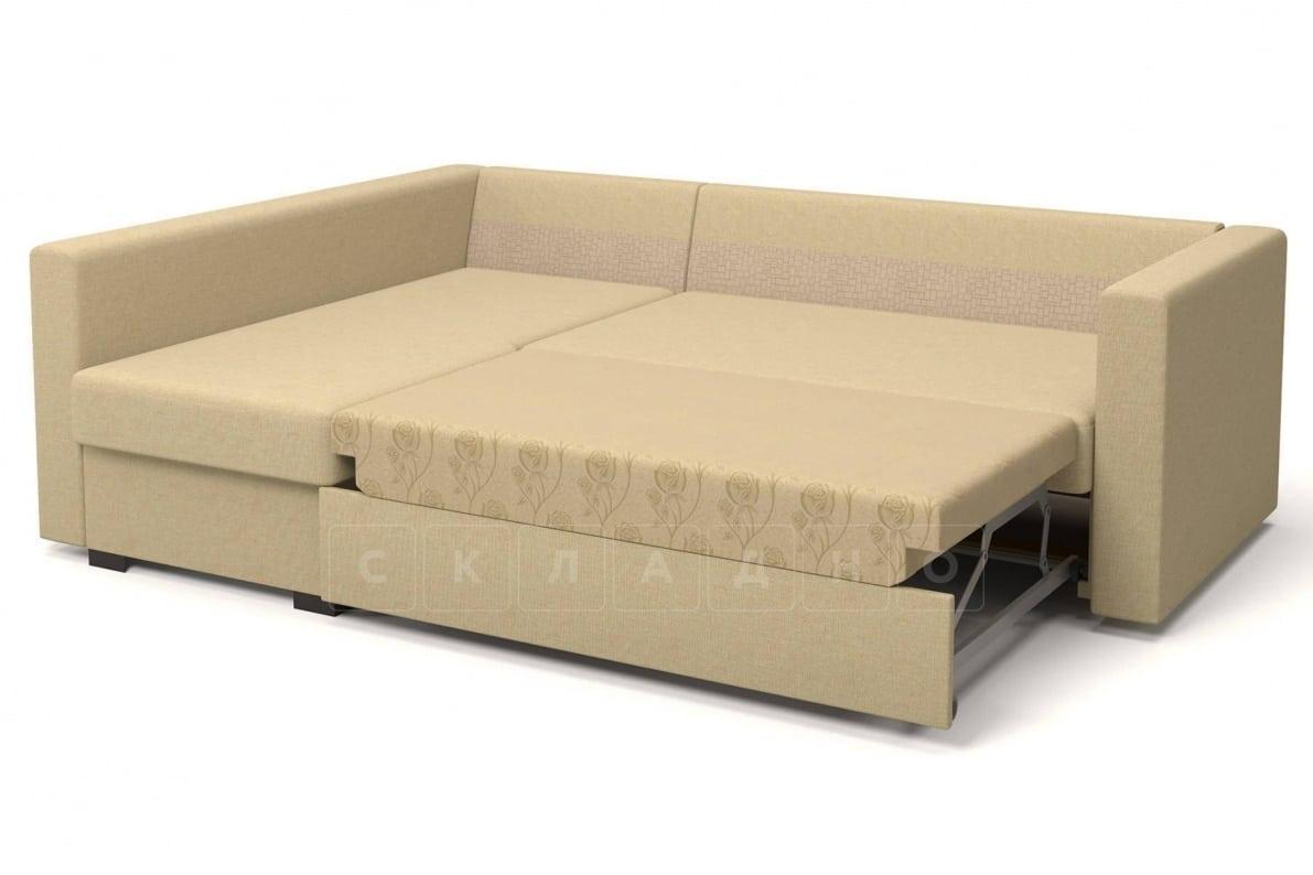 Угловой диван Джессика бежевый левый фото 5 | интернет-магазин Складно