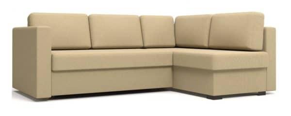 Угловой диван Джессика бежевый правый фото | интернет-магазин Складно