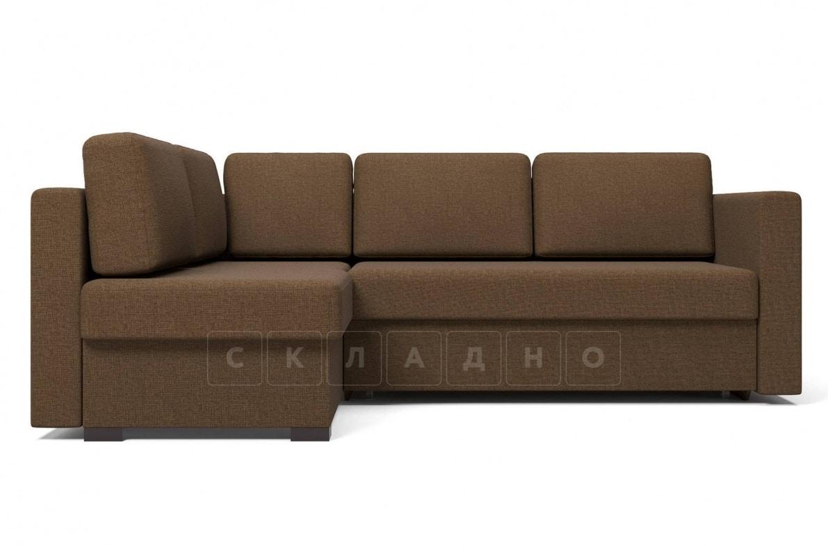 Угловой диван Джессика коричневый левый фото 2 | интернет-магазин Складно