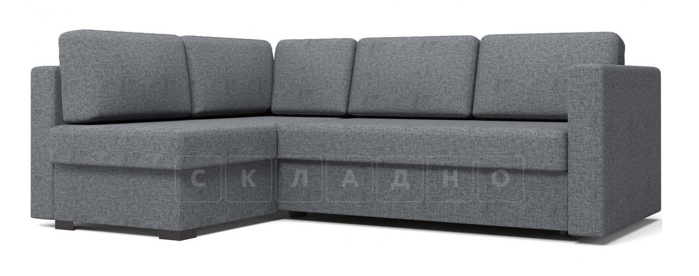 Угловой диван Джессика серый левый фото 1 | интернет-магазин Складно