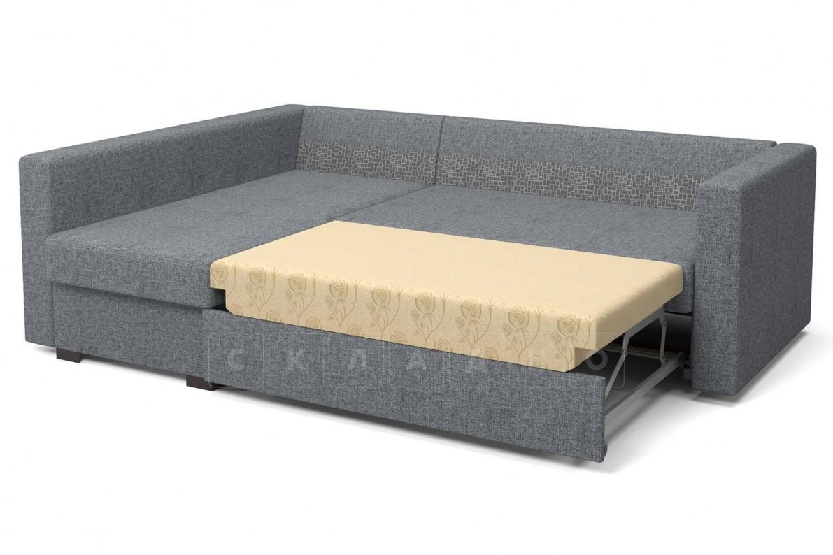 Угловой диван Джессика серый левый фото 6 | интернет-магазин Складно