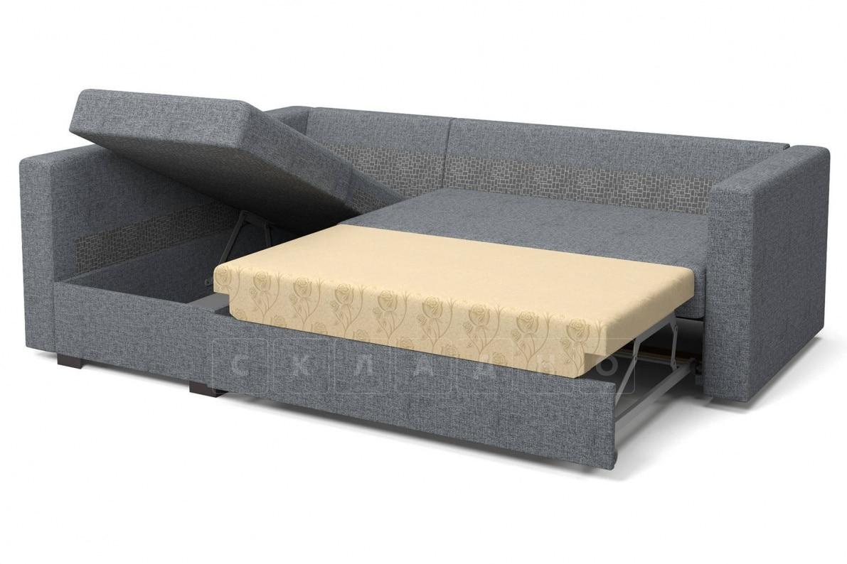 Угловой диван Джессика серый левый фото 5 | интернет-магазин Складно