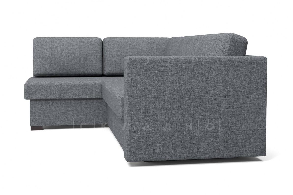 Угловой диван Джессика серый левый фото 3 | интернет-магазин Складно
