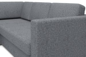 Угловой диван Джессика серый левый 22990 рублей, фото 4 | интернет-магазин Складно