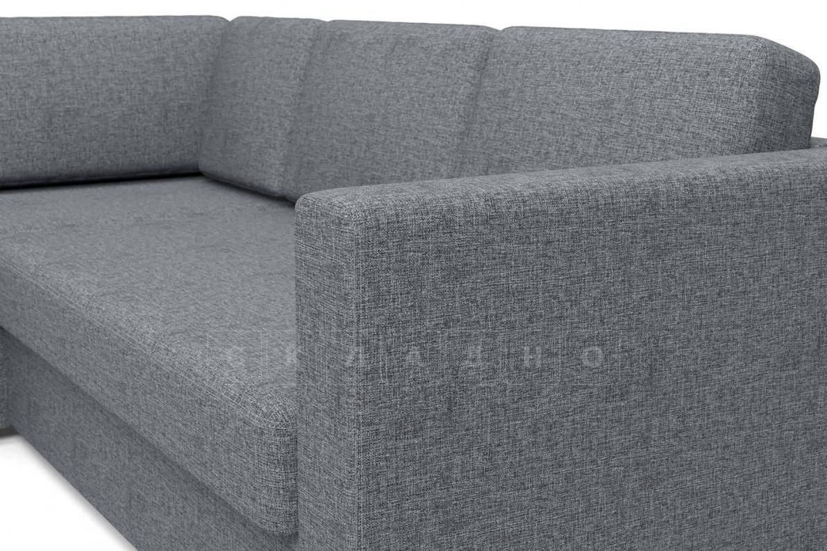Угловой диван Джессика серый левый фото 4 | интернет-магазин Складно