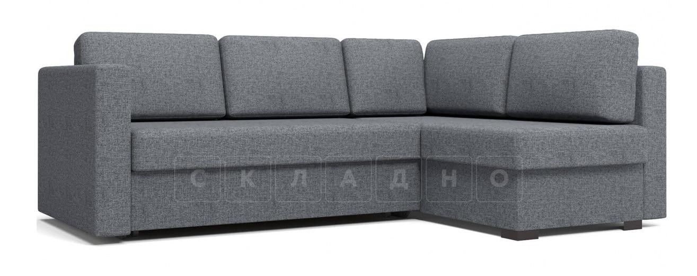 Угловой диван Джессика серый правый фото 1 | интернет-магазин Складно