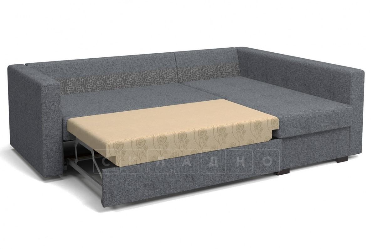 Угловой диван Джессика серый правый фото 5 | интернет-магазин Складно