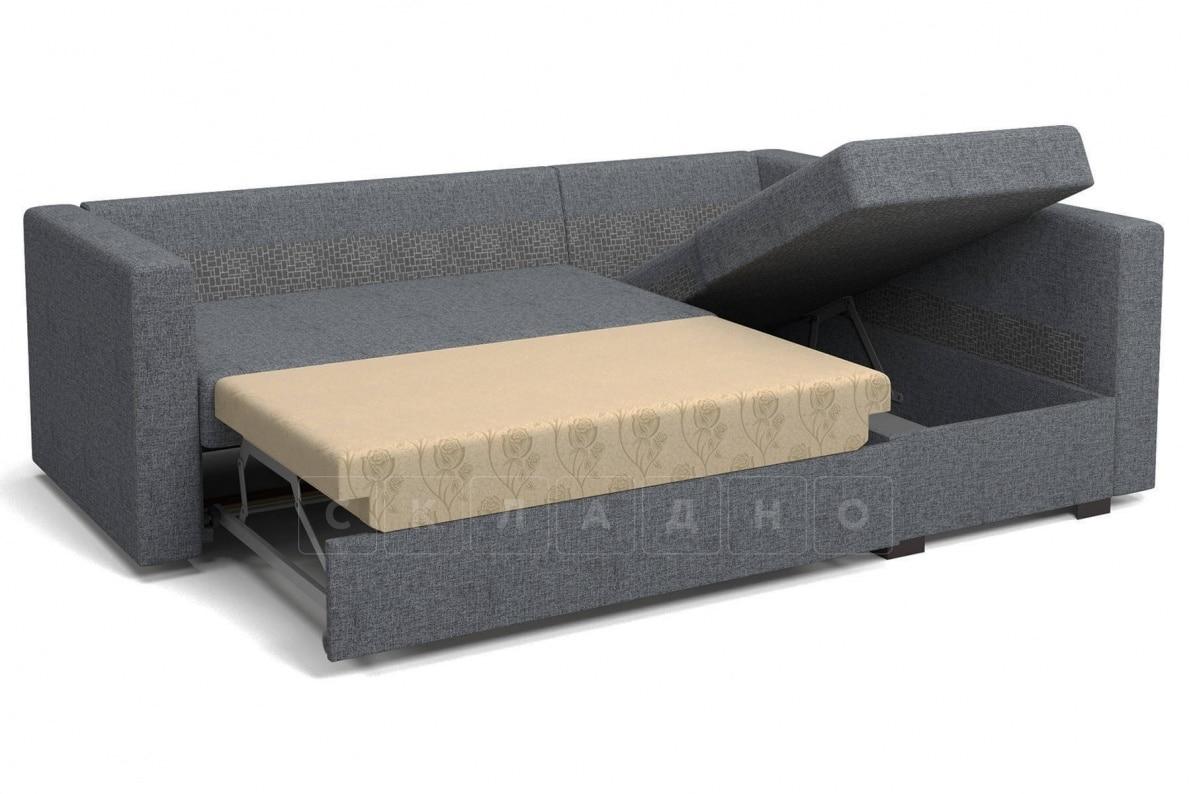 Угловой диван Джессика серый правый фото 6 | интернет-магазин Складно