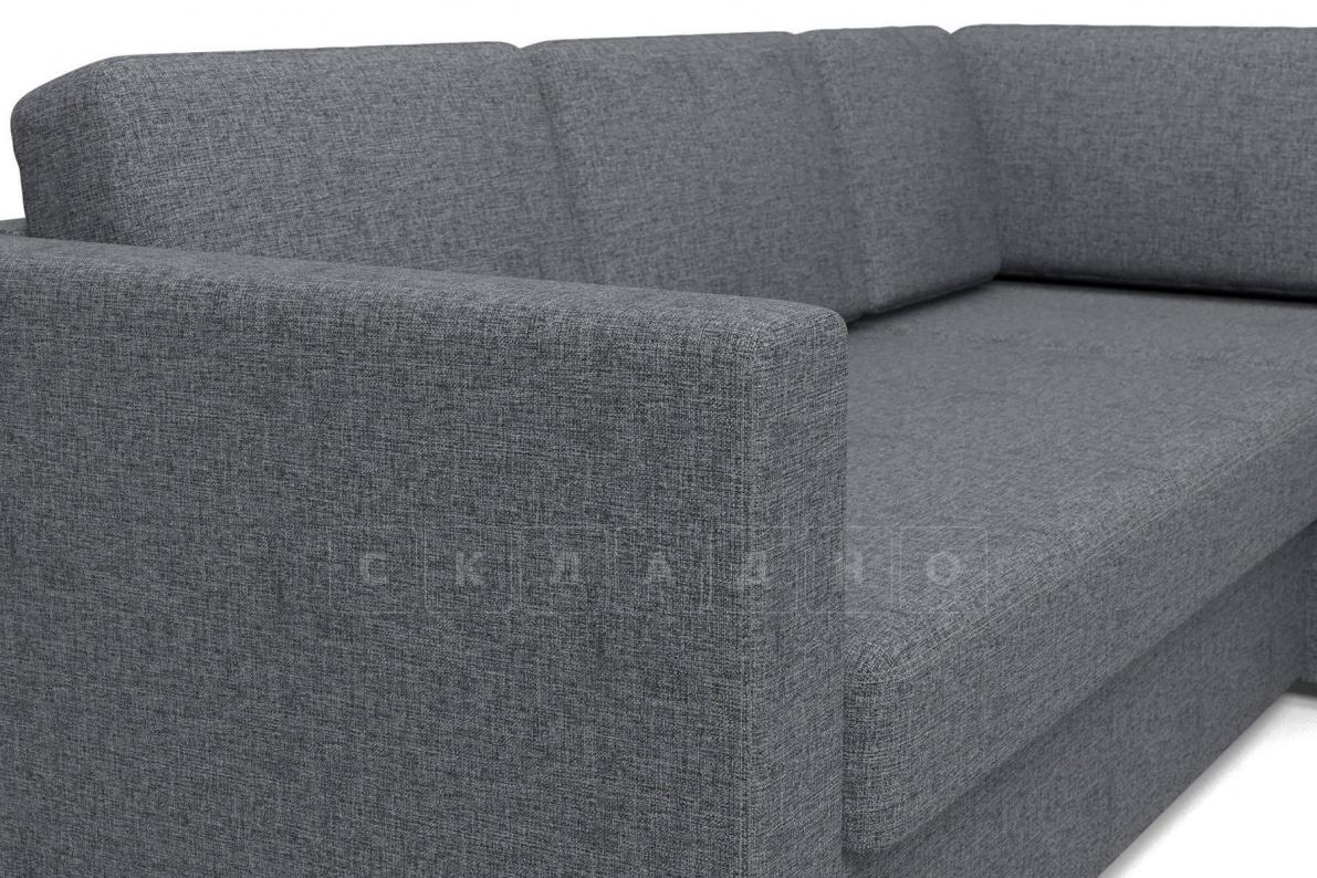 Угловой диван Джессика серый правый фото 4 | интернет-магазин Складно