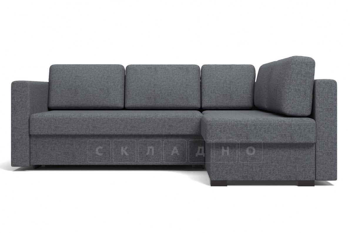 Угловой диван Джессика серый правый фото 2 | интернет-магазин Складно