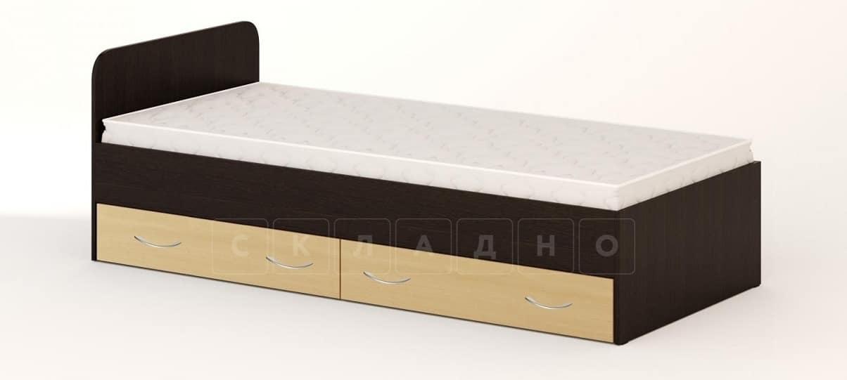 Кровать с ящиками Л-1 160 см фото 1 | интернет-магазин Складно