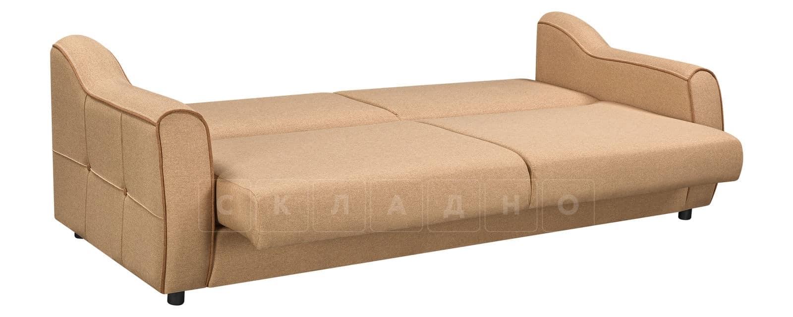 Диван Флэтфорд рогожка бежевый цвет фото 3 | интернет-магазин Складно