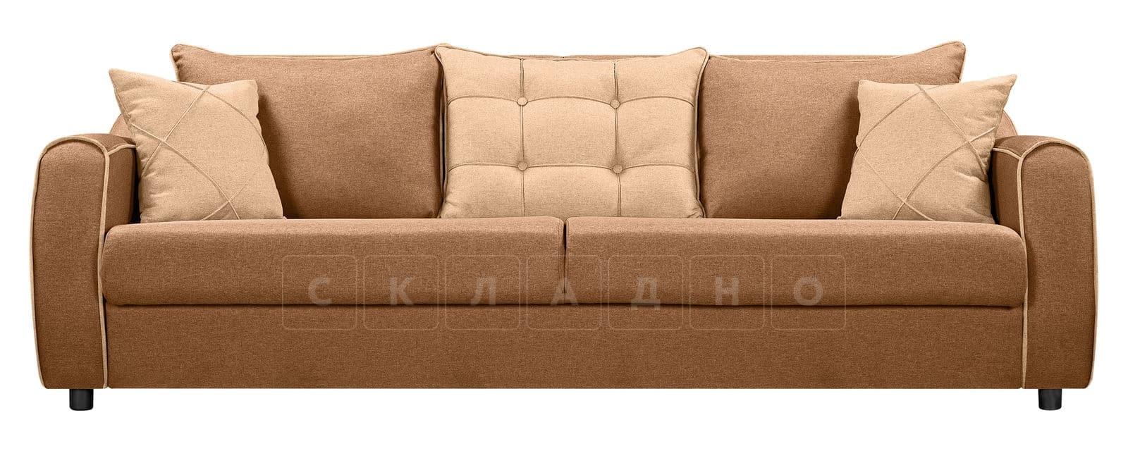 Диван Флэтфорд рогожка коричневый цвет фото 2 | интернет-магазин Складно