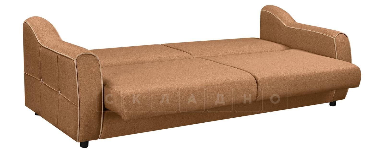 Диван Флэтфорд рогожка коричневый цвет фото 4 | интернет-магазин Складно