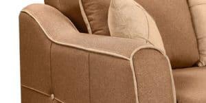 Диван Флэтфорд рогожка коричневый цвет 36950 рублей, фото 5 | интернет-магазин Складно