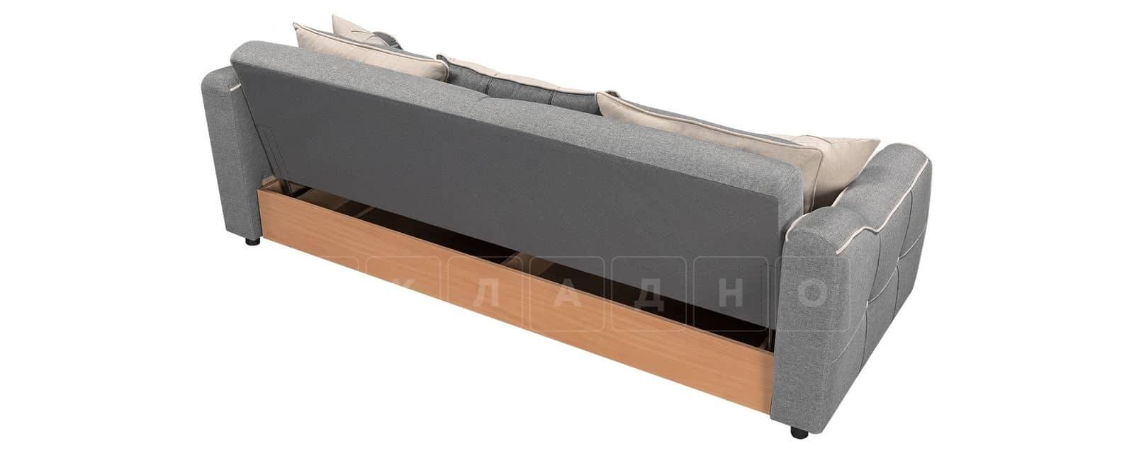 Диван Флэтфорд рогожка серый цвет фото 3 | интернет-магазин Складно