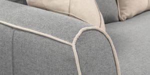 Диван Флэтфорд рогожка серый цвет 36950 рублей, фото 5 | интернет-магазин Складно