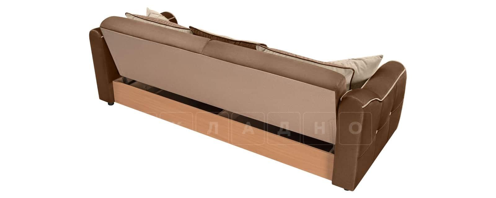 Диван Флэтфорд велюр коричневый фото 3 | интернет-магазин Складно