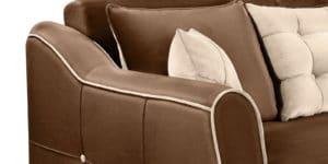 Диван Флэтфорд велюр коричневый 36950 рублей, фото 5 | интернет-магазин Складно