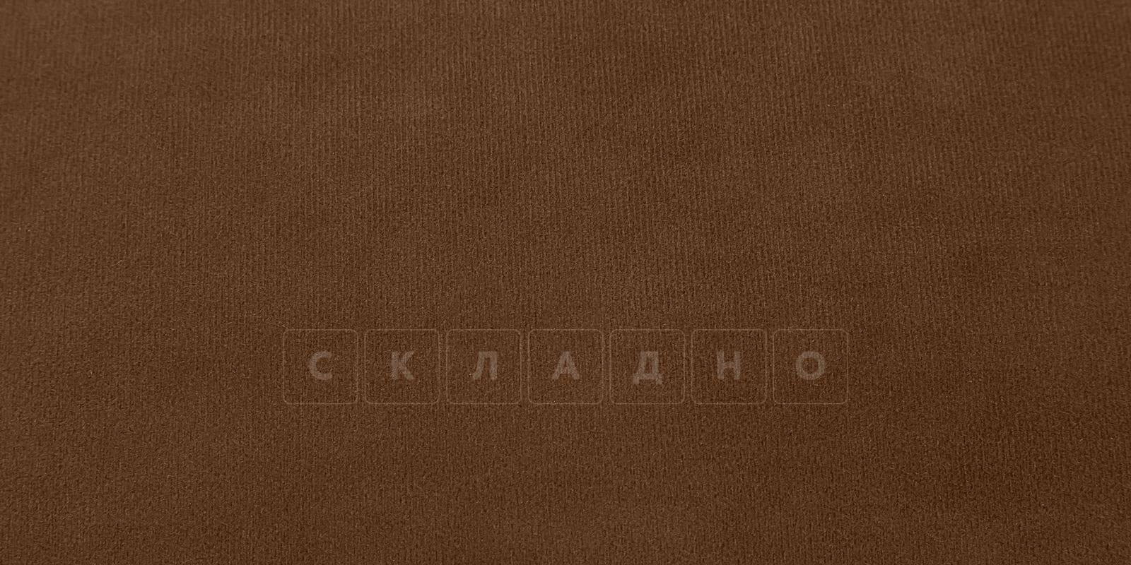 Диван Флэтфорд велюр коричневый фото 9 | интернет-магазин Складно
