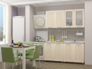 Кухонный гарнитур Изабелла 1,6м 9370 рублей, фото 2 | интернет-магазин Складно