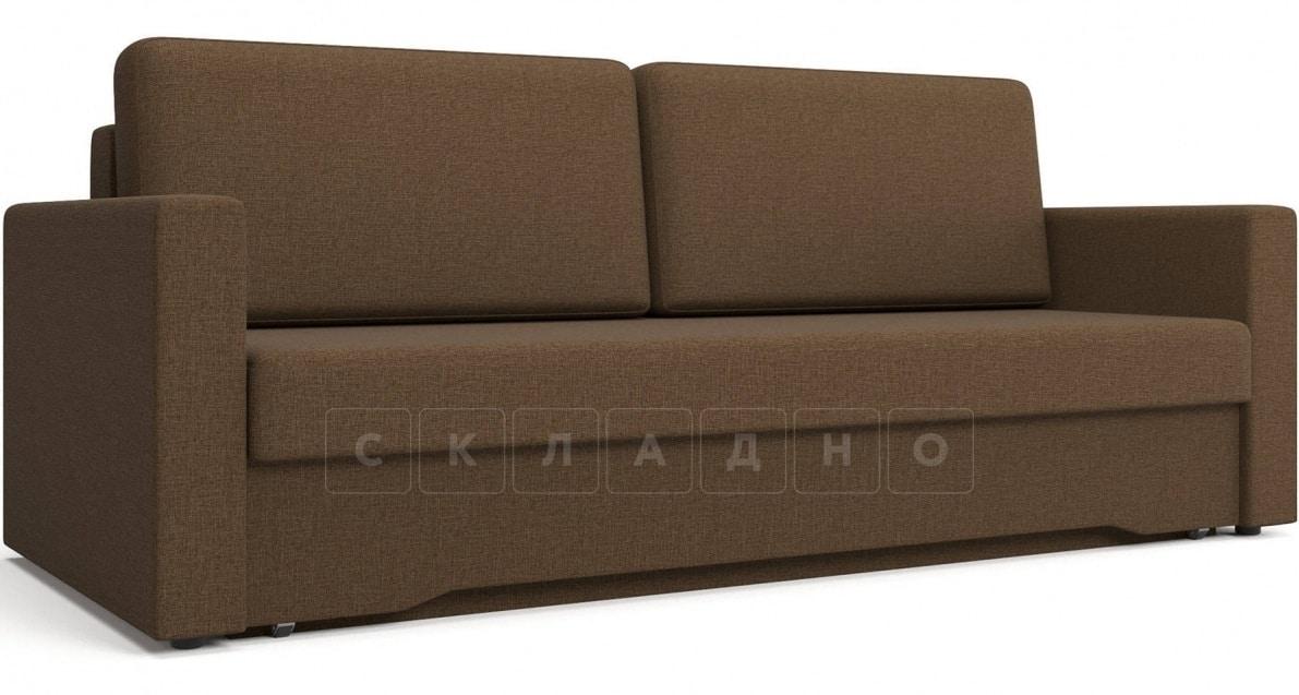 Диван еврокнижка Джесcика коричневый фото 1 | интернет-магазин Складно