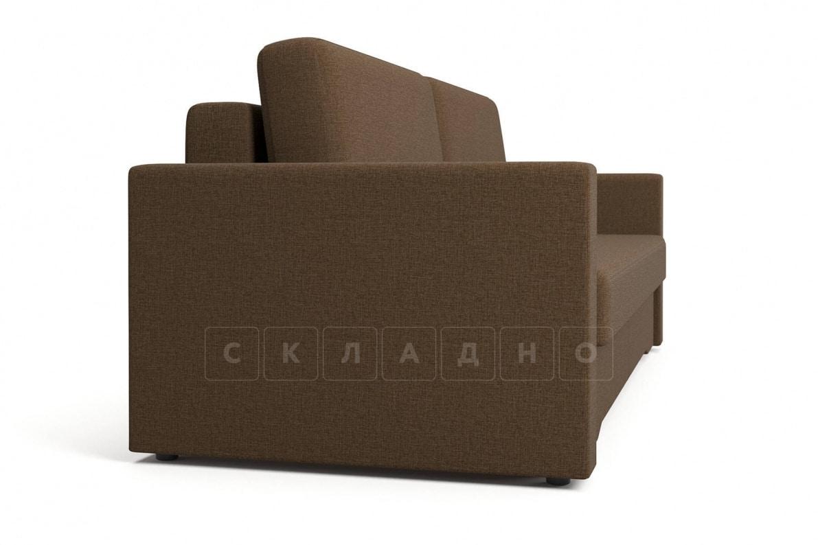 Диван еврокнижка Джесcика коричневый фото 3 | интернет-магазин Складно