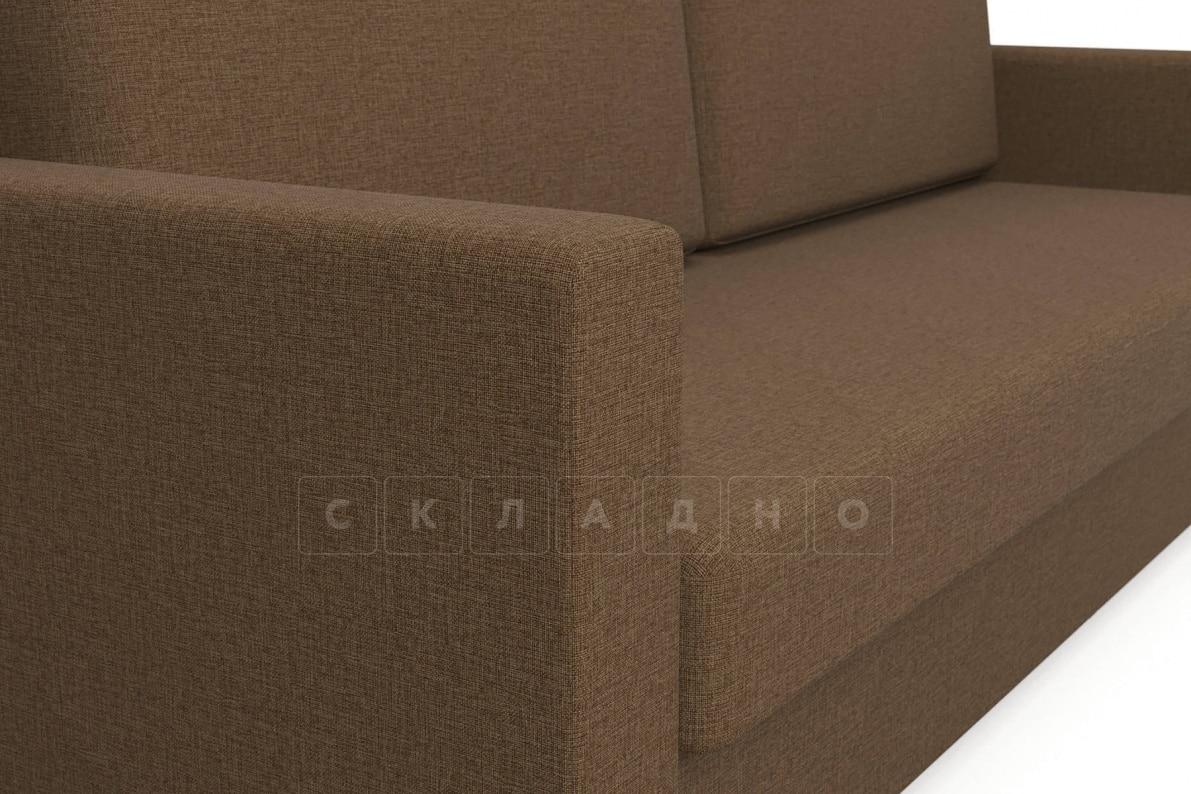 Диван еврокнижка Джесcика коричневый фото 4 | интернет-магазин Складно
