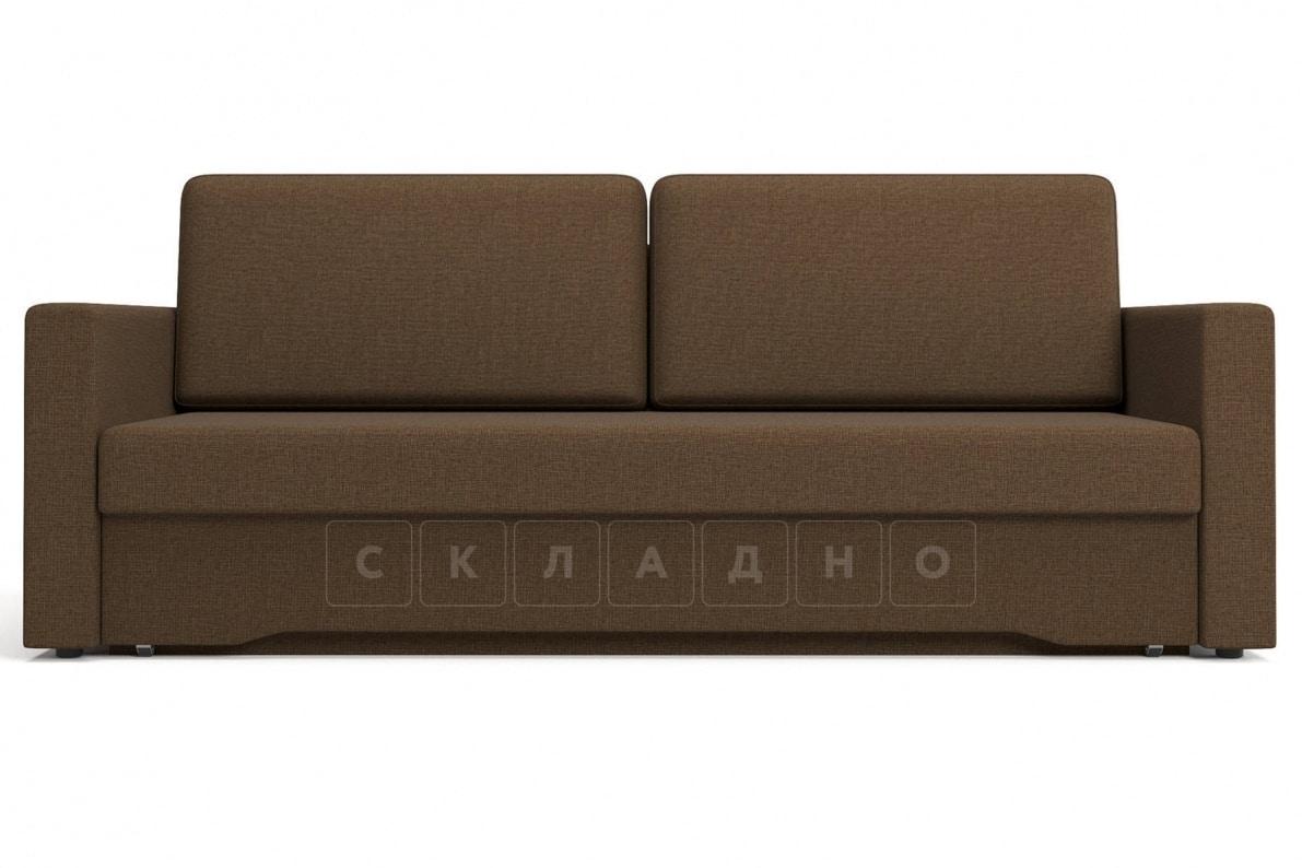 Диван еврокнижка Джесcика коричневый фото 2 | интернет-магазин Складно
