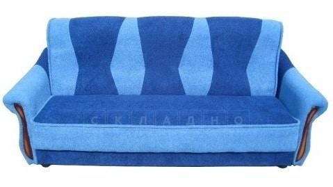 Диван-книжка Карина синего цвета фото | интернет-магазин Складно