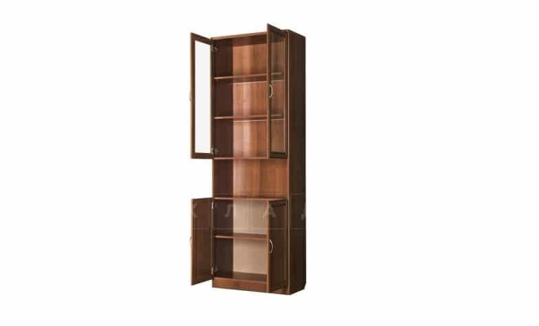 Книжный шкаф 207 итальянский орех фото 2 | интернет-магазин Складно