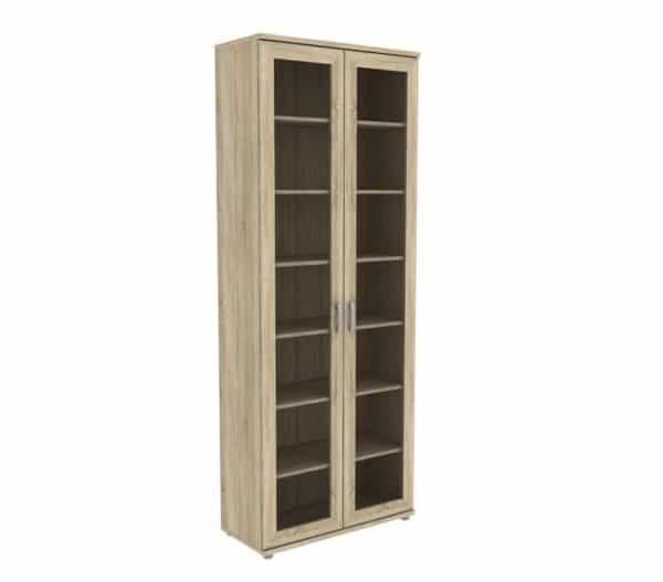 Книжный шкаф 502-02 дуб сонома фото | интернет-магазин Складно
