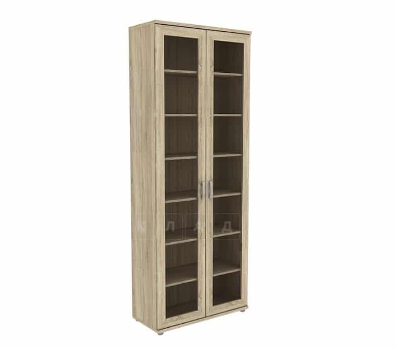 Книжный шкаф 502-02 дуб сонома фото 1 | интернет-магазин Складно