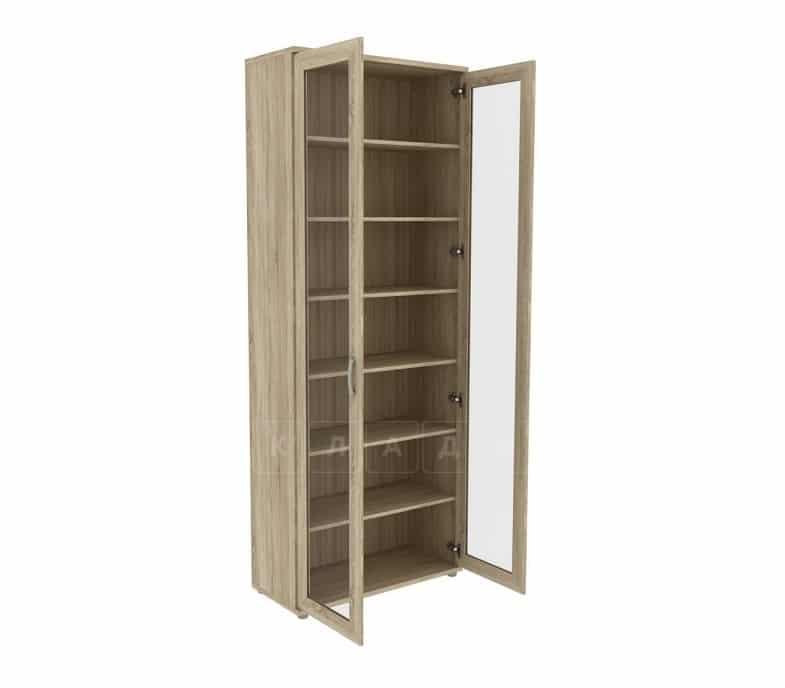 Книжный шкаф 502-02 дуб сонома фото 2 | интернет-магазин Складно