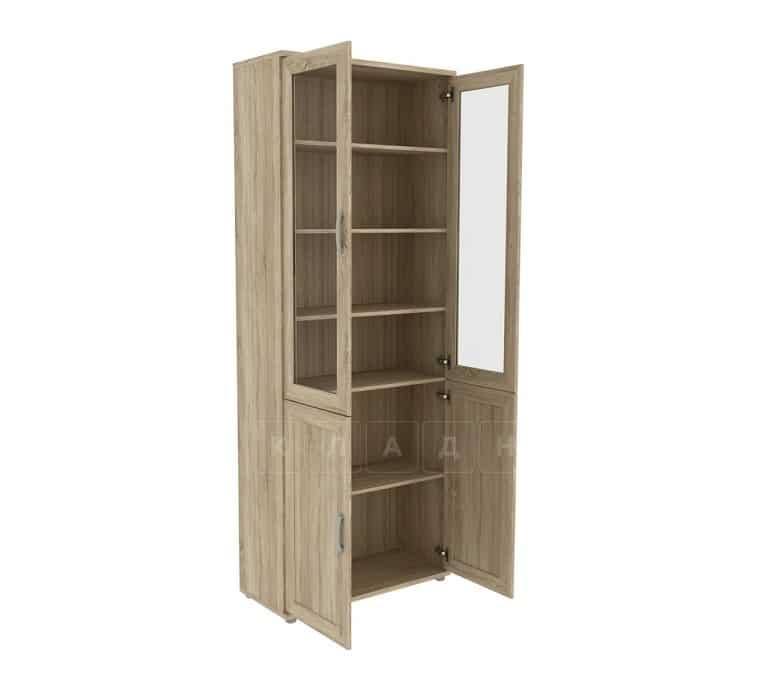 Книжный шкаф 502-05 дуб сонома фото 2 | интернет-магазин Складно