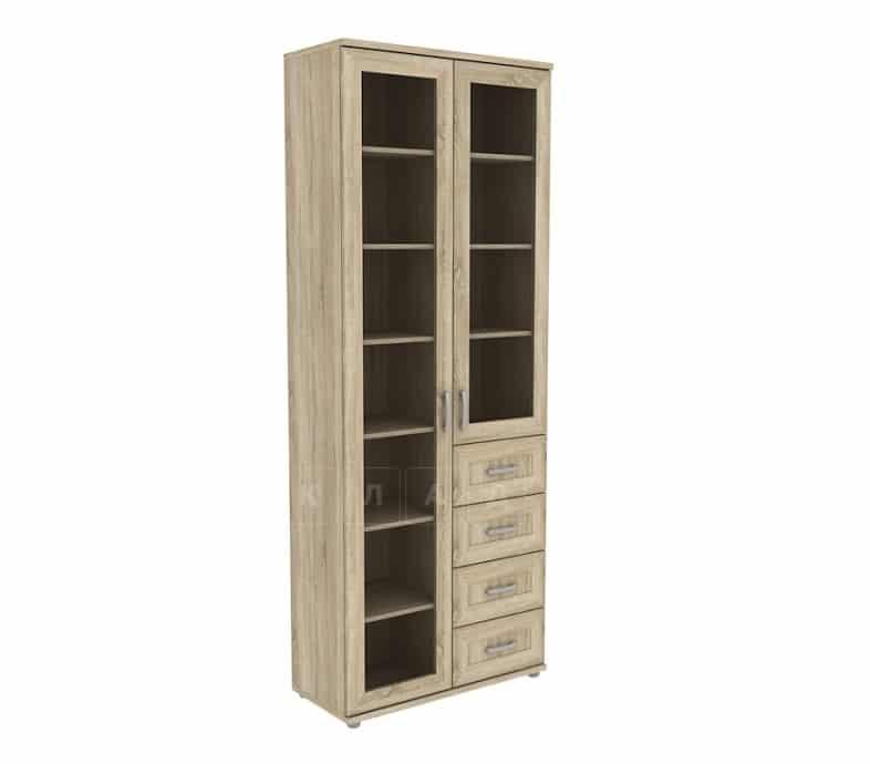 Книжный шкаф 502-11 дуб сонома фото 1 | интернет-магазин Складно
