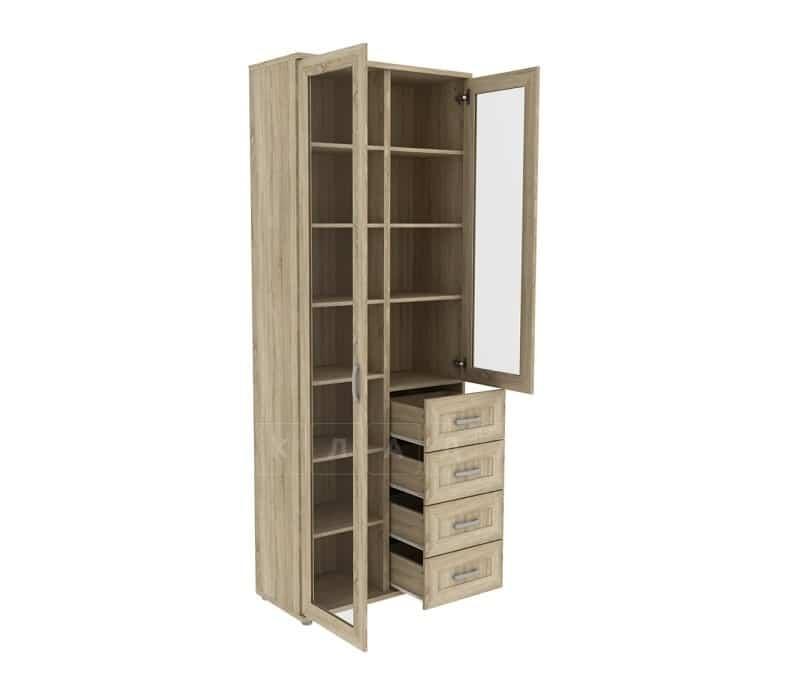Книжный шкаф 502-11 дуб сонома фото 2 | интернет-магазин Складно