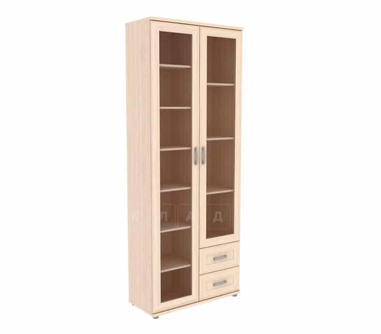Книжный шкаф 502-13 молочный дуб фото 1 | интернет-магазин Складно